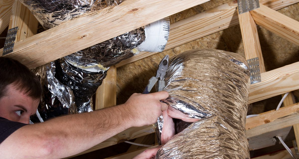 How is foil tape used in abatement jobs?