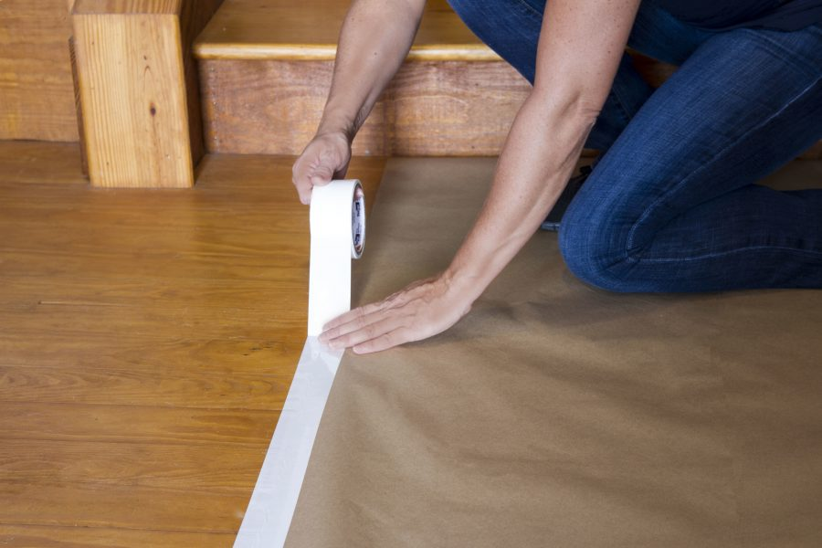 Can I Apply Painter S Tape To Wood Flooring Tape University