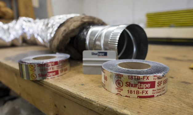 Why do I need a UL listed tape for HVAC reflective insulation?