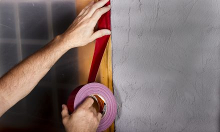Why are some stucco tapes red?