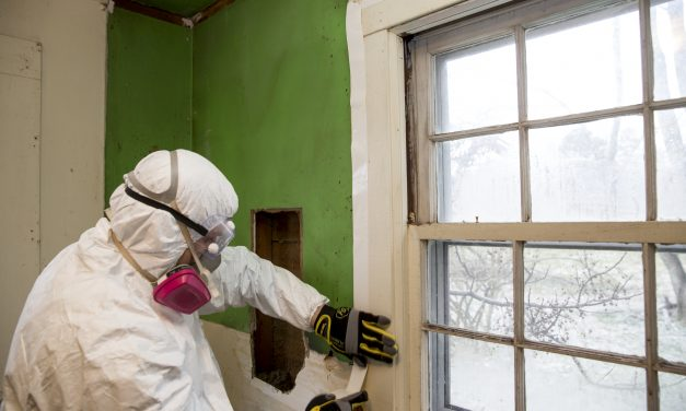 How are abatement tapes used for asbestos removal?