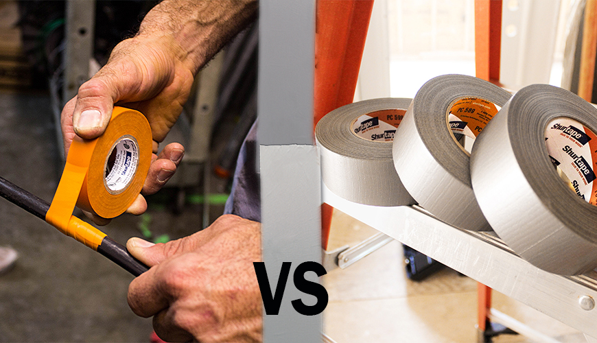 What Makes Electrical Tape Diffe From Other Adhesive Tapes