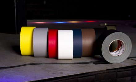 What is the purpose of colored gaffer's tape?