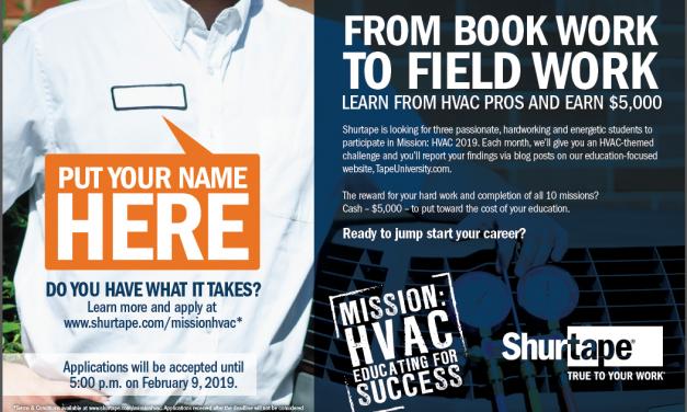 Earn $5,000 towards your HVAC education or trade school program!